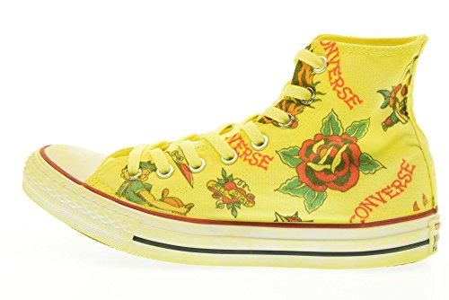 All Giallo Converse Hi Star Ltd Dragon Canvas Yellowprint 156922c 7xZdw8xqC