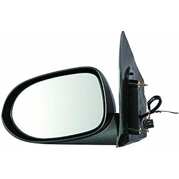 NEW Mirror 07-12 DODGE CALIBER Driver Left Side MANUAL NON-HEATED