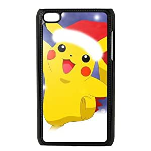 Personalized Durable Cases Ipod Touch 4 Phone Case Black Czxkw Pikachu Protection Cover