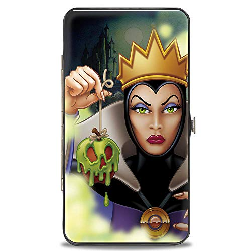 Buckle-Down Women's Hinge Wallet-Snow White Evil Queen, Multicolor, 7