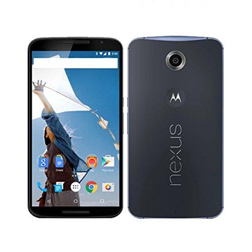 Motorola Nexus 6 Unlocked Cellphone, 32GB, Midnight Blue (Certified Refurbished) (Google Nexus 5 Refurbished)