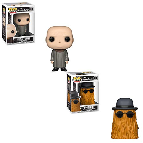 Funko POP! Television The Addams Family: Uncle Fester and Cousin ITT Toy Action Figure - 2 POP -