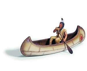 Schleich 42013  -  Figura/ miniatura Canoa india con la figura