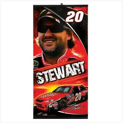 Tony Stewart NASCAR Banner (Tony Wall Stewart)