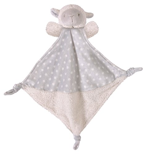 Stephan Baby Plush Knotty Animal Security Blankie, Lamb ()