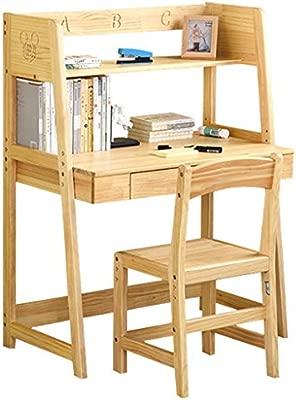 Juegos de mesas y sillas Mesa para Niños De Escritorio De Madera ...
