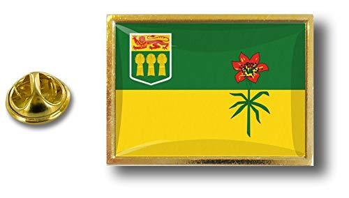 Saskatchwan Badge Pin's Drapeau Metal Pin Akacha Pince Pins Canada Papillon Avec AqEvAxZw