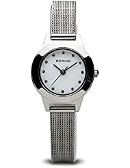 BERING Time 11125-000 Women Classic Collection Watch with Stainless-Steel Strap and scratch resistent sapphire...