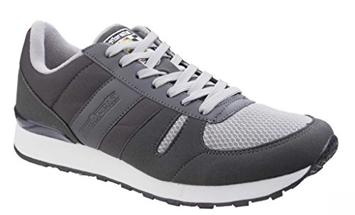 Lambretta Mens Elite II Lace Up Casual Sporty Fashion Trainers Black low shipping sale online cheap sale prices sale very cheap cheap fake lowest price cheap price EoDSm