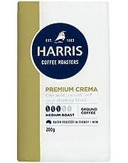 Harris Premium Blend Ground Coffee - Roasted in Sydney (200g x 6 Packs)