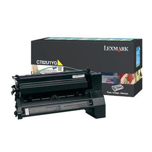 LEXC782U1YG - Lexmark C782U1YG Extra High-Yield Toner by Lexmark