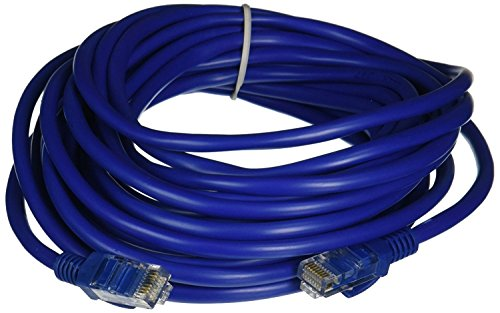 Importer520 CAT/5-100FT Patch Ethernet Network Cable 100-Feet for Pc, Mac, Laptop, Ps2, Ps3, Xbox, Blue