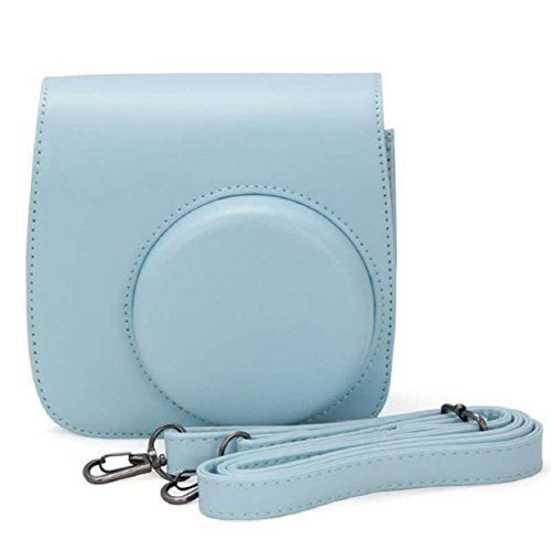 mokingtop-classic-colorful-pu-leather-camera-case-bag-for-fujifilm-instax-mini8-mini8s-light-blue