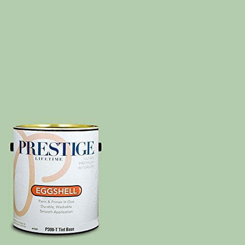 (Prestige Paints P300-T-SW6443 Interior Paint and Primer in One, 1-Gallon, Eggshell, Comparable Match of Sherwin Williams Relish, 1 Gallon, SW45-Relish)