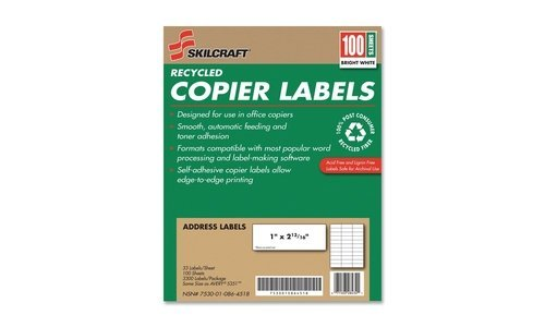 AbilityOne - Recycled Copier Labels-1