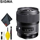 Sigma 35mm f/1.4 DG HSM Art Lens for Canon EF (US Model) Standard Kit