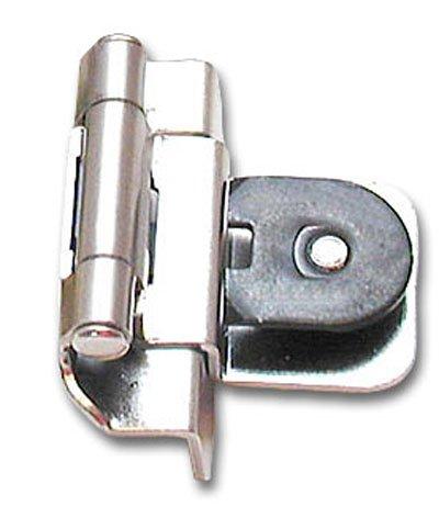 Amerock BP8700 G9 Double Demountable Hinge 3/8 Inch Inset, Sterling Nickel