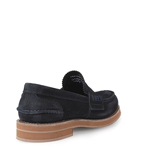 CHURCH'S PEMBREY M SUEDE NAVY LOAFER
