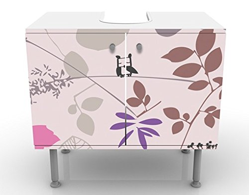 Mobile per lavabo design living below 60x55x35cm basso for Mobiletto design