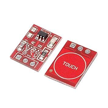 Modulo TTP223 Sensor Capacitivo Digital Touch Key Tactil para Arduino Raspberry: Amazon.es: Electrónica