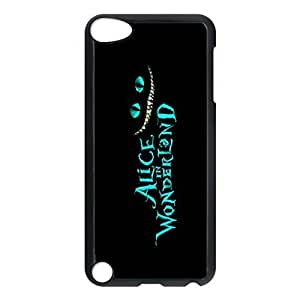SUUER Cheshire Cat Alice in Wonderlan Personalized Custom Plastic Hard CASE Back Fits Cover Case for iPod Touch 5, 5G (5th Generation)