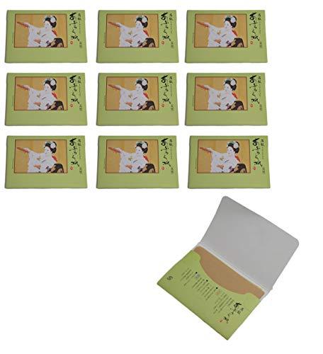 Dancing Maiko Japanese Premium Oil Blotting Paper 100 Sheets Packs of 10