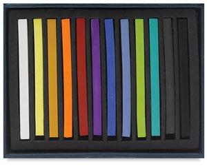 (Jack Richeson Semi Hard Square Pastels Set of 12)
