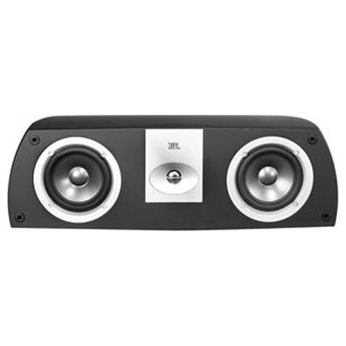 Leviton AECCS-VCE Architectural Edition Powered By JBL Dual 5-Inch Woofer Two-Way Shelf-Mount Center Channel Loud Speaker, Black Leviton Video Amplifier