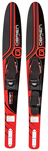 O'Brien Vortex Widebody Combo Water Skis 65.5', Blue