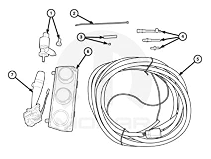 Amazon Com Mopar Hard Top Wiring Package