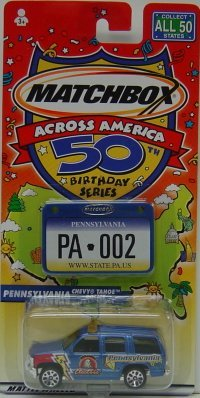 ica 50th Birthday Series Pennsylvania Chevy Tahoe Police ()