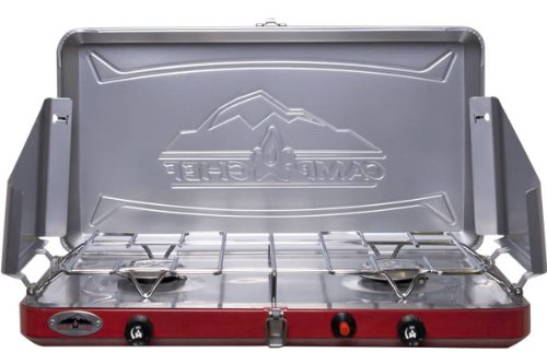 Camp Chef Teton 2 Burner Lightweight Camp (2 Burner Ignition Stove)