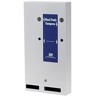 Touchfree Feminine Hygiene Dual Sanitary Napkin and Tampon Dispenser,  Hospeco® A1-50