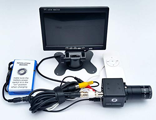 - Revolution Imager for Telescope - Live Color Video Camera with Monitor