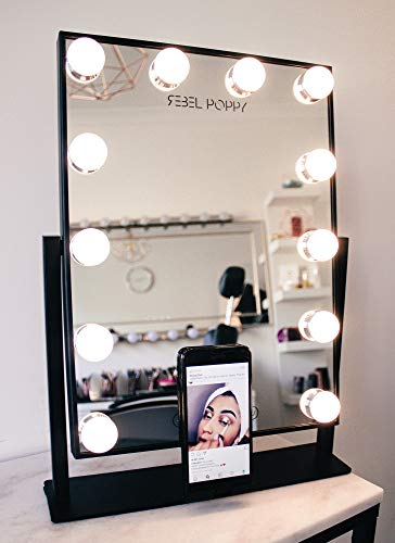 Top 10 best vanity black mirror with lights for 2020
