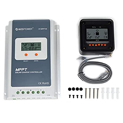 Best Cheap Deal for Epsolar TracerA 10A 20A 40A MPPT Charge Controller+ MT50 from Epsolar - Free 2 Day Shipping Available