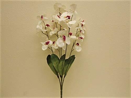 24' Silk Calla Lily - JumpingLight CR. Beauty Phalaenopsis Orchid Bush 5 Artificial Silk Flowers 24'' Bouquet 6234CB Artificial Flowers Wedding Party Centerpieces Arrangements Bouquets Supplies