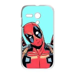 Motorola Moto G Phone Case White Marvel superhero comic HDS326846