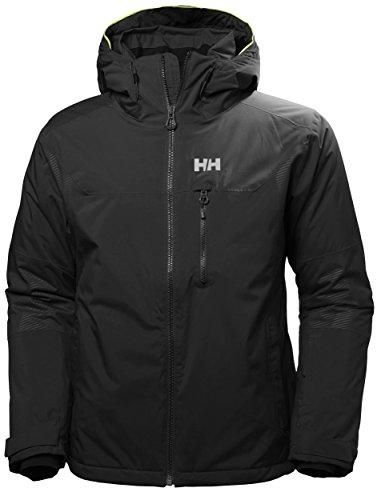 (Helly Hansen Men's Double Diamond Jacket, Black, 2XL)