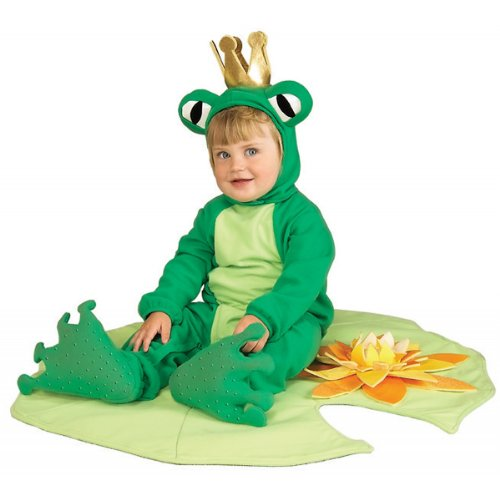 [Costumes For All Occasions Ru81242 Frog Infant Ribbit 6 To 12 Mo] (Prince Frog Costumes)