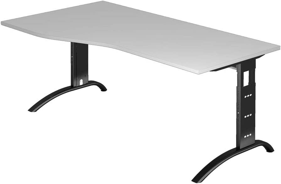 Dr de oficina escritorio altura regulable hasta 85 cm – 180 x 100 ...