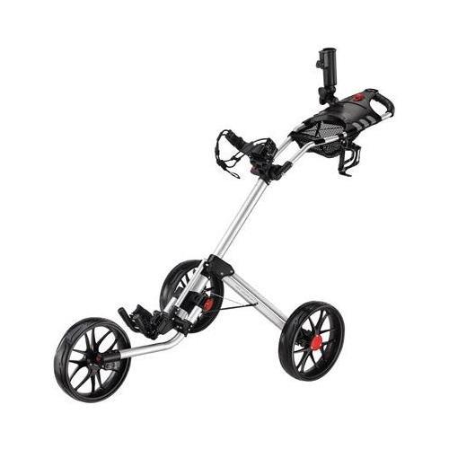 CaddyTek Silver CaddyLite 15.3 Quad-Fold Golf Push Cart CP-153-SIL OEM
