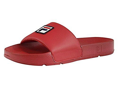 Fila Men's Drifter F-Box Sandals, Red, 13 M