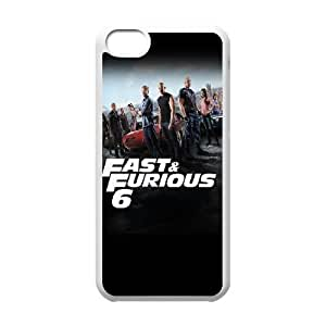 Fast And Furious 6 Cast iPhone 5c Cell Phone Case White phone component RT_134239