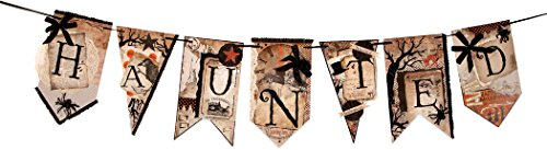 Into the Haunted Woods Pennant Garland by Bethany Lowe Designs (Image #1)