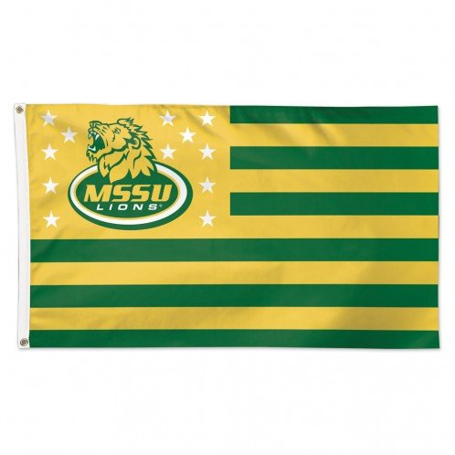 (WinCraft Missouri Southern State University Lions NCAA American Flag 3 x 5 Foot )