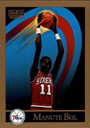 68422aa89 Amazon.com  1990 SkyBox Basketball Card (1990-91)  403 Manute Bol Mint   Collectibles   Fine Art