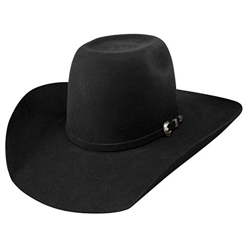 Resistol Western Hat (Resistol Men's pay Window 3X Wool Hat Black 7 3/8)