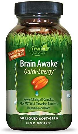Irwin Naturals Brain Awake Energy