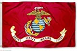 US Marines Marine Corps Eagle Globe Anchor 3x5 ft Perma Dye Flag House Banner